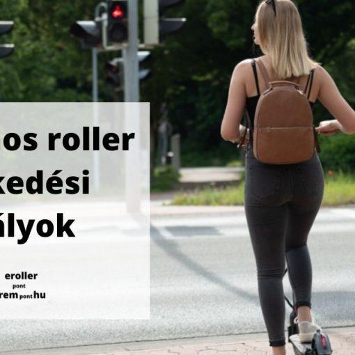 Elektromos roller közlekedési szabályok